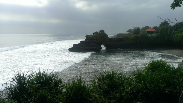 Part of the beauty that is Tanah Lot, Bali.
